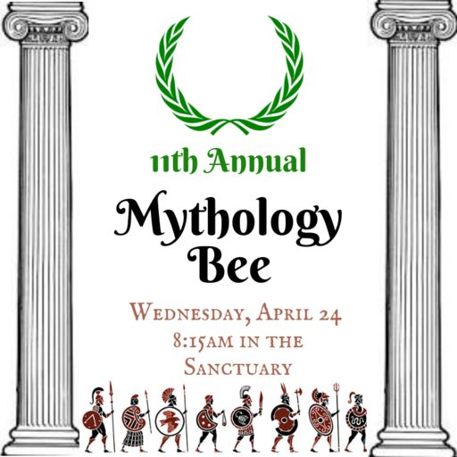 Mythology Bee April 24, 2019